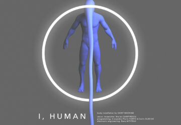 I, Human (body installation)