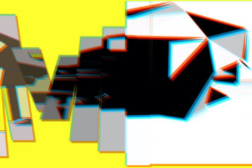 Abstract Anaglyph Composition